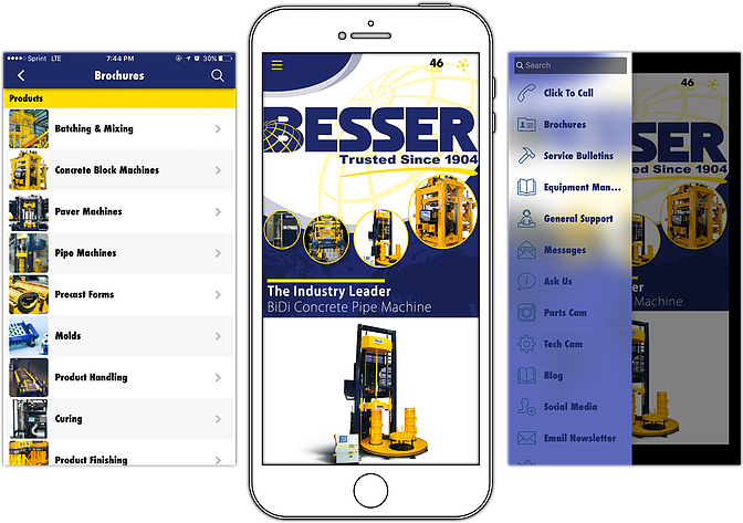 Besser Company's App Previews