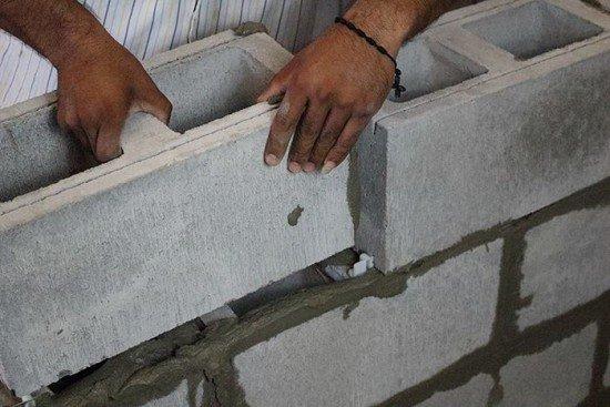 Cement Block Spacer For Mortar : Alliance partner concrete block spacer besser